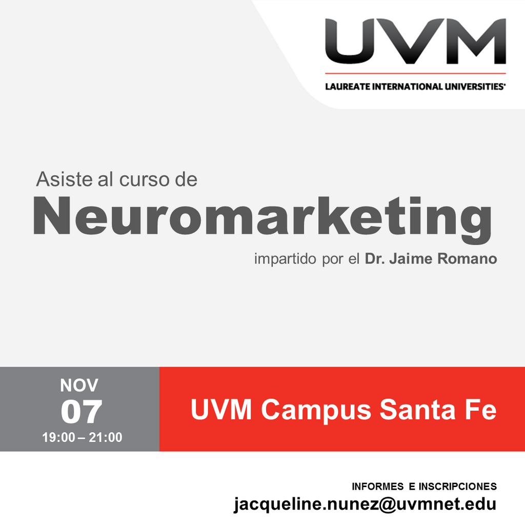 Curso NEuromarketing 7nov