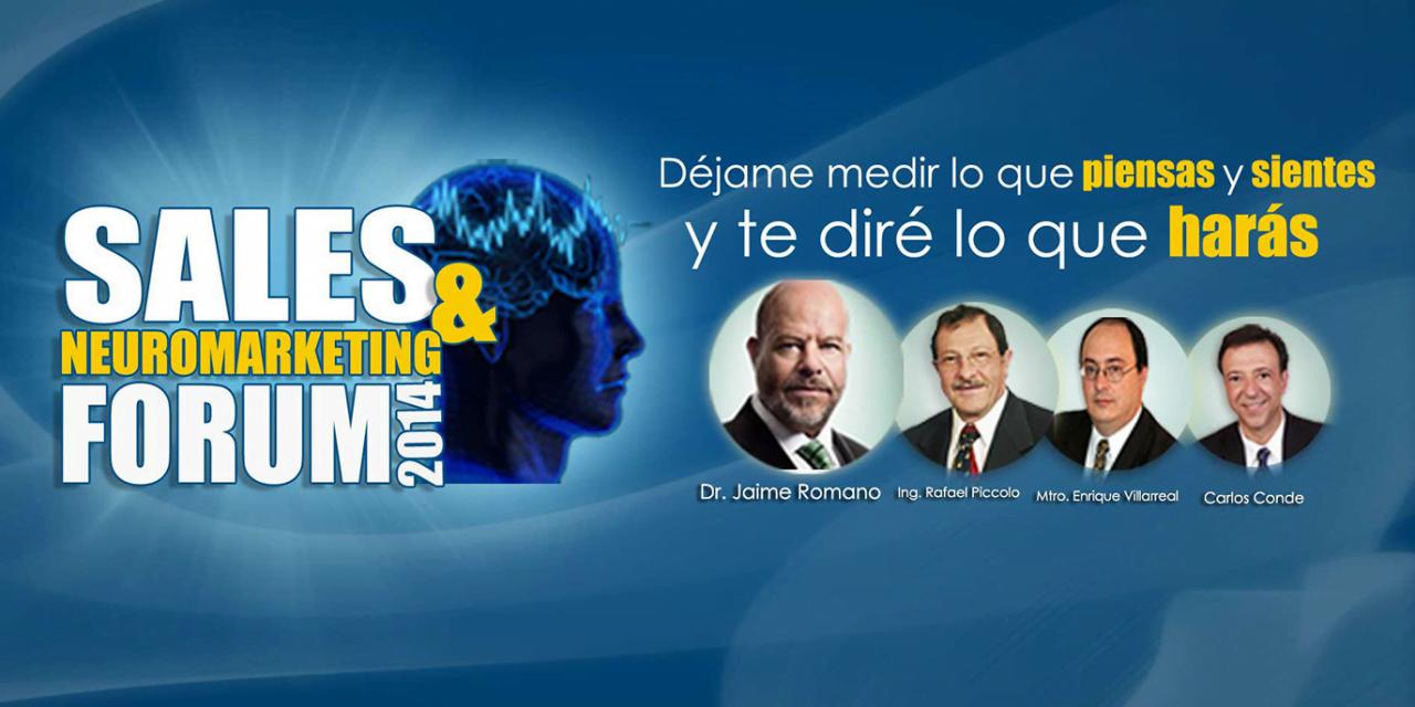 Sales and Neuromarketing Forum – 2 de Julio 2014 – México, D.F.