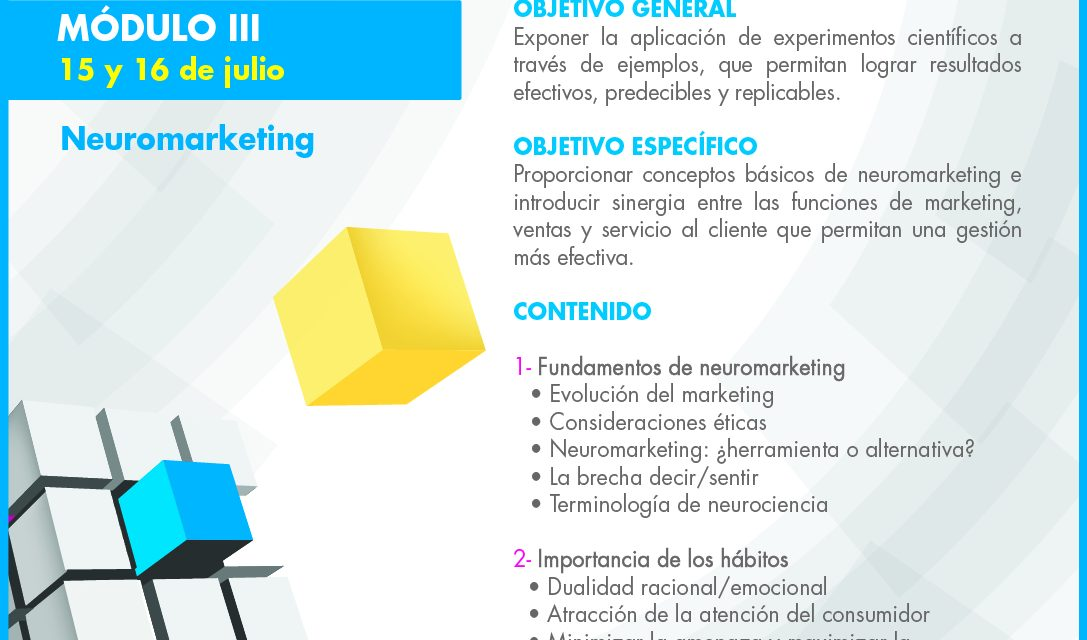 Conferencia: Beyond the line, Neuromarketing – 15 y 16 de julio 2014 – El Salvador