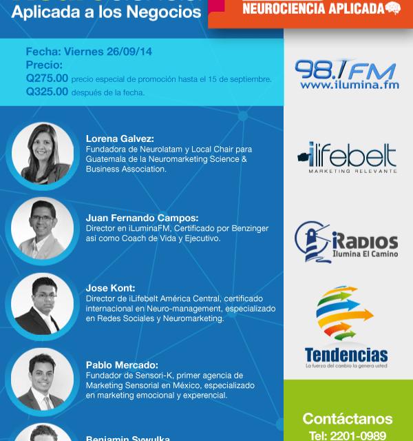 Conferencias #GTF2014: Neurociencia Aplicada a los Negocios