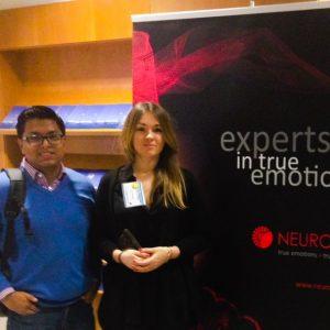 En el evento se presentaron tecnologías como NeuroHM, líderes en mediciones de RT.