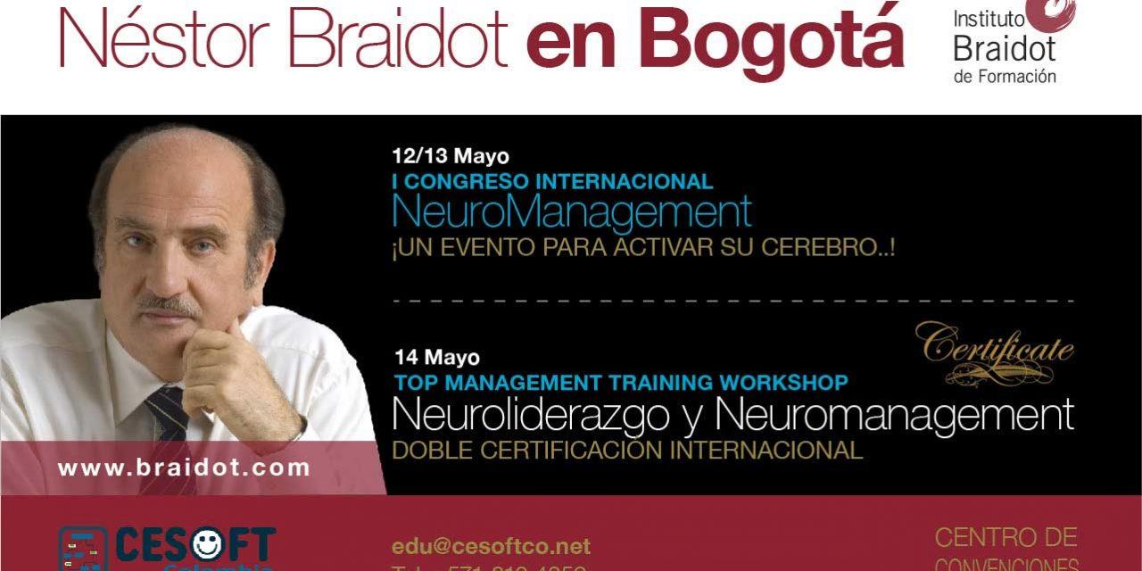Neuroliderazgo y Neuromanagement – 14 de Mayo en Bogotá Certificación Internacional con Nestor Braidot