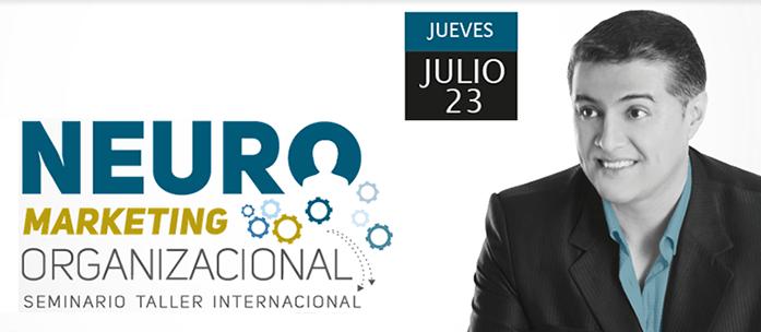 Seminario de Neuromarketing Organizacional con Jimmy Tellez Figueros – Colombia – 23 de Julio 2015