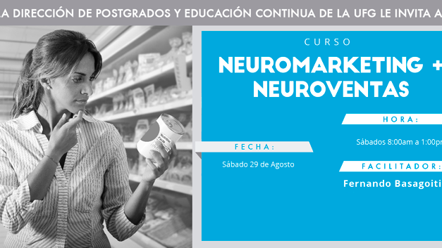 Curso de Neuromarketing y Neuroventas – El Salvador 29 de Agosto