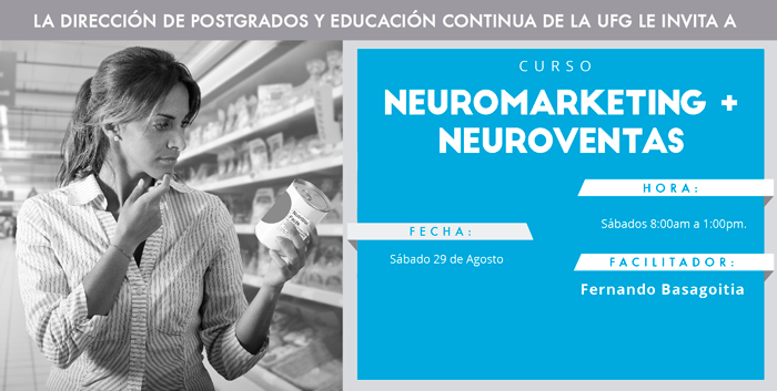Curso de Neuromarketing y Neuroventas – El Salvador 29 de Agosto