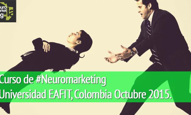 Curso de #Neuromarketing en Colombia del 09 al 24 de Octubre 2015
