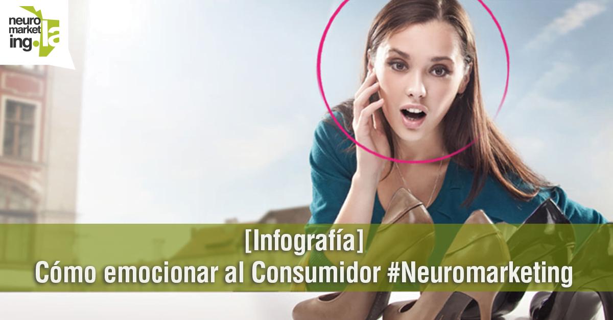[Infografía] Cómo emocionar al Consumidor #Neuromarketing