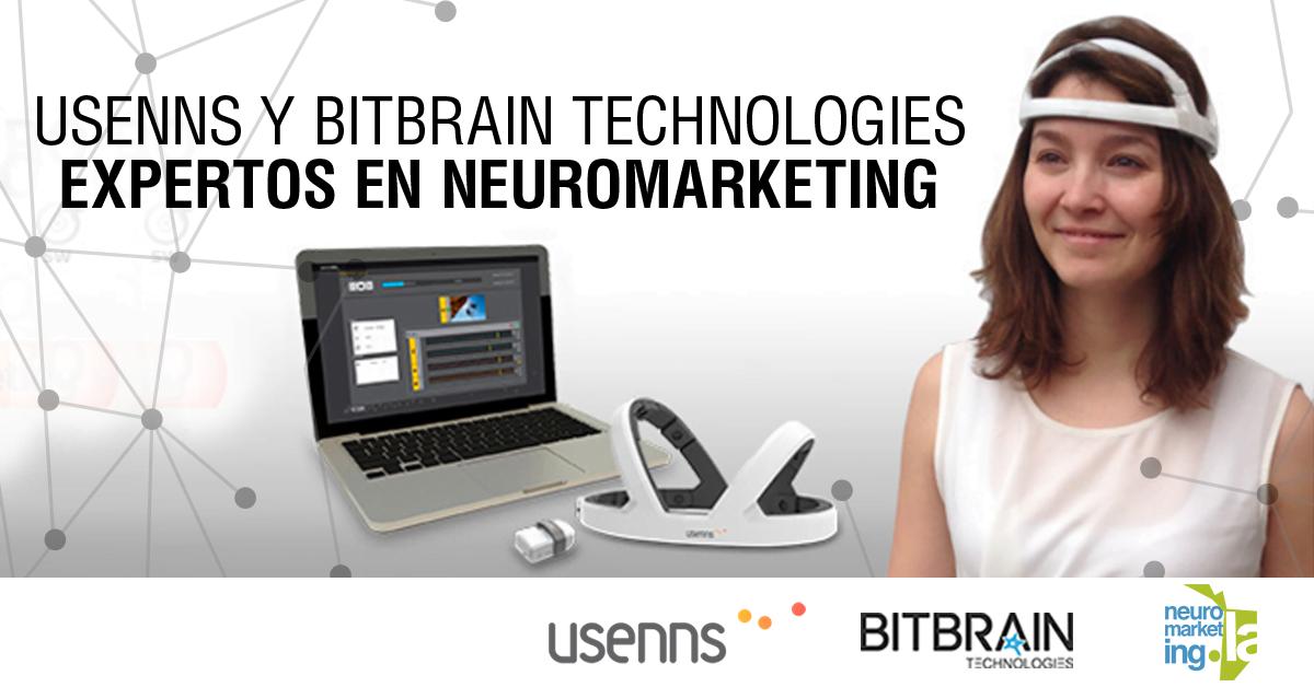 Usenns y BitBrain Technologies: Expertos en Neuromarketing