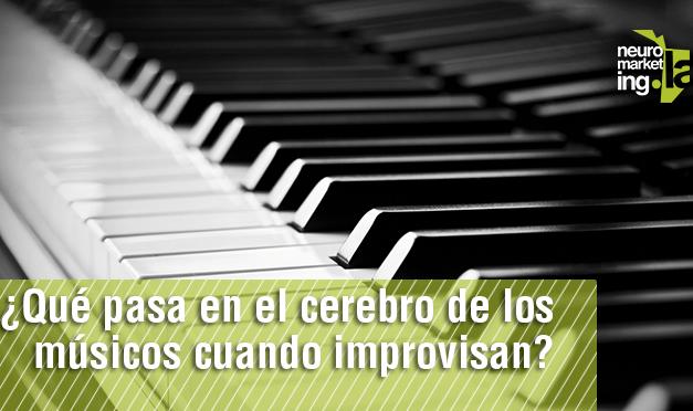 ¿Qué pasa en el cerebro de los músicos cuando improvisan?