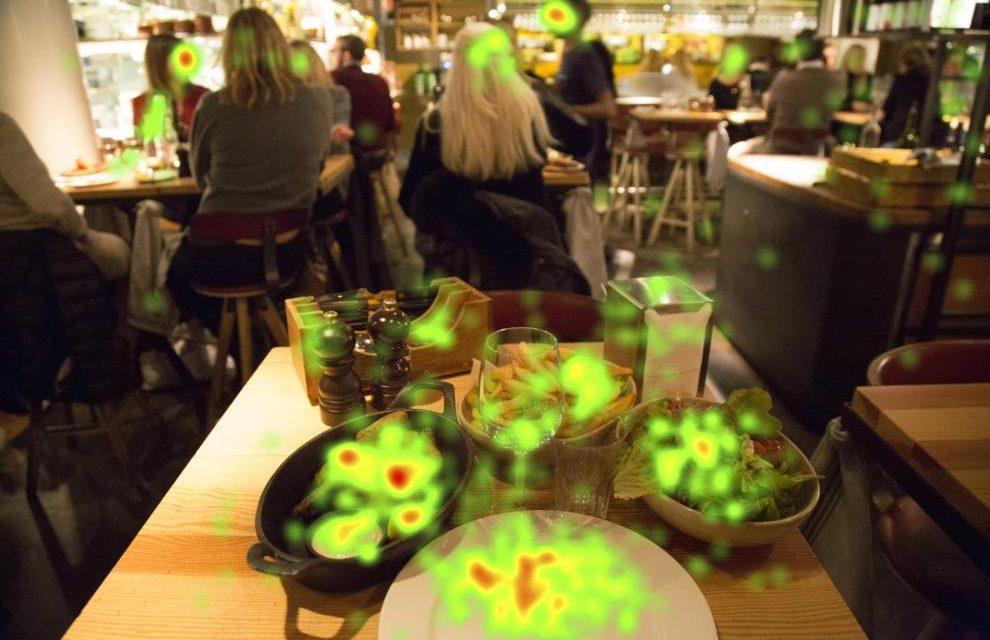 Restaurantes usan Eye Tracking para mejorar la experiencia de sus clientes