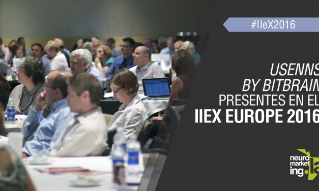 Usenns by BitBrain presentes en el IIeX Europe 2016