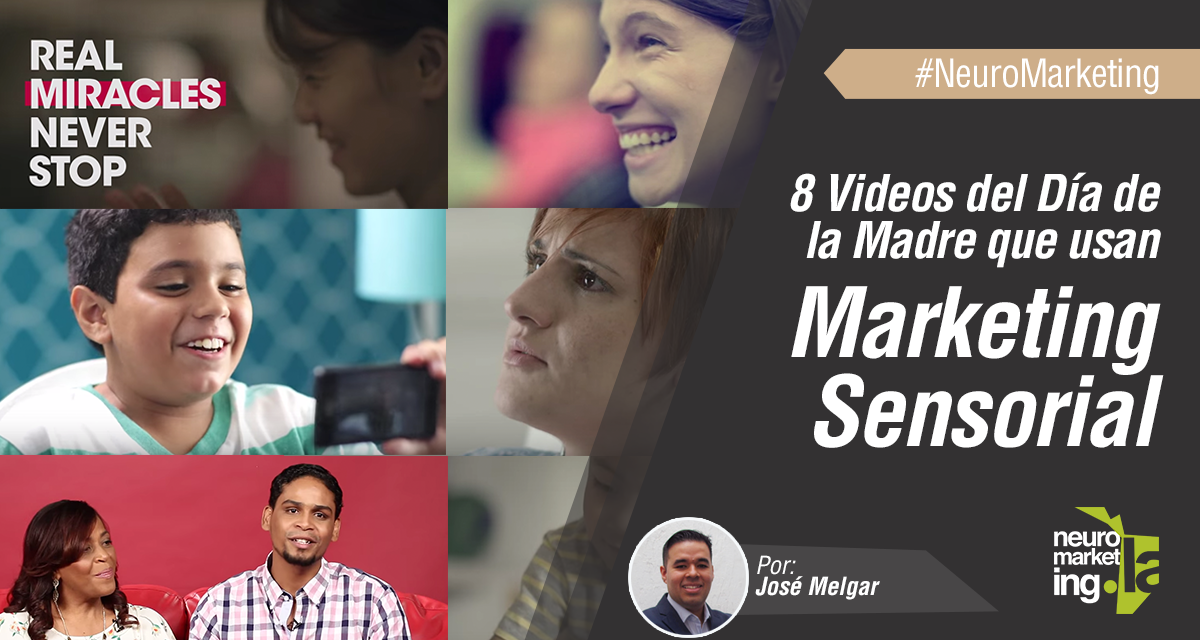 8 Videos del Día de la Madre que usan Marketing Sensorial