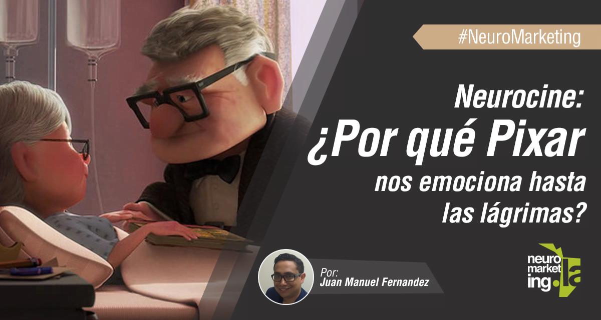 Neurocine: ¿Por qué Pixar nos emociona hasta las lágrimas?