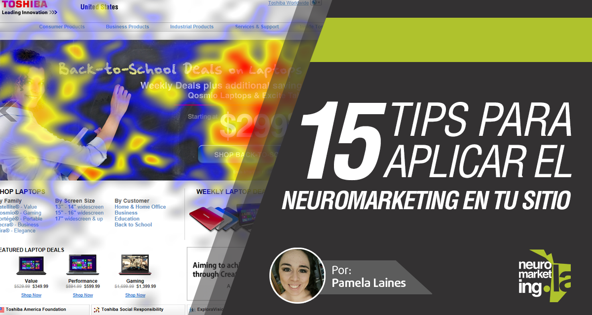 15 tips para utilizar el Neuromarketing en tu sitio Web