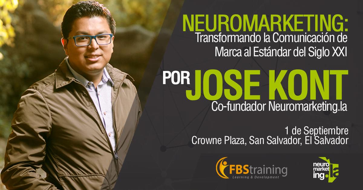 Curso general de Neuromarketing, 1° de septiembre, El Salvador