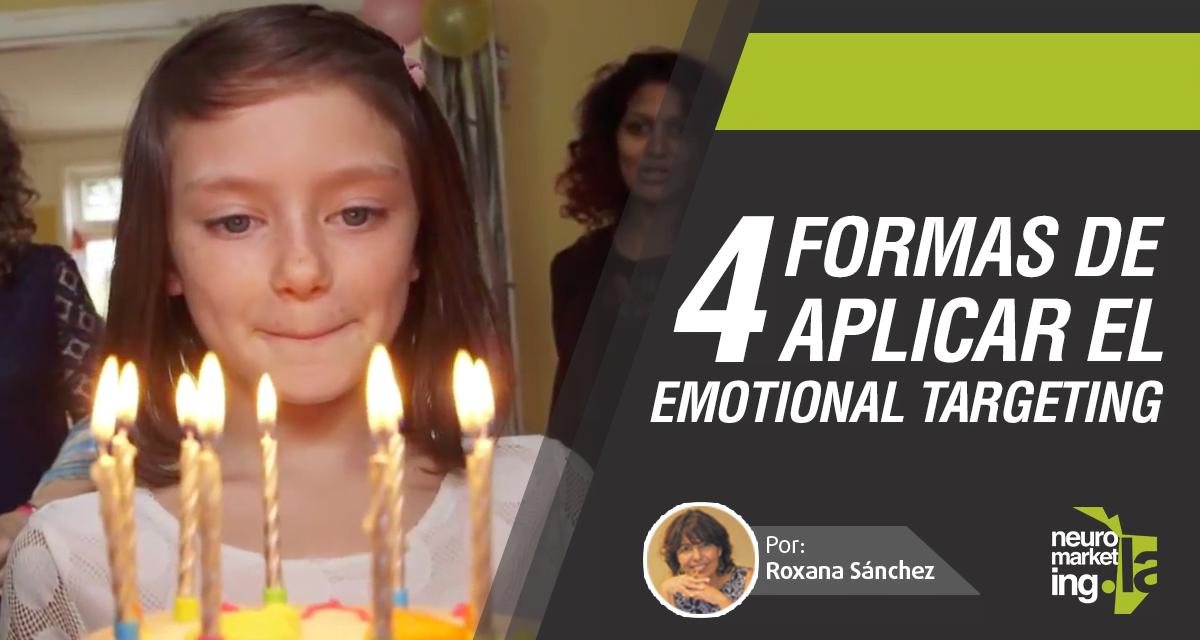 4 formas de aplicar Emotional Targeting