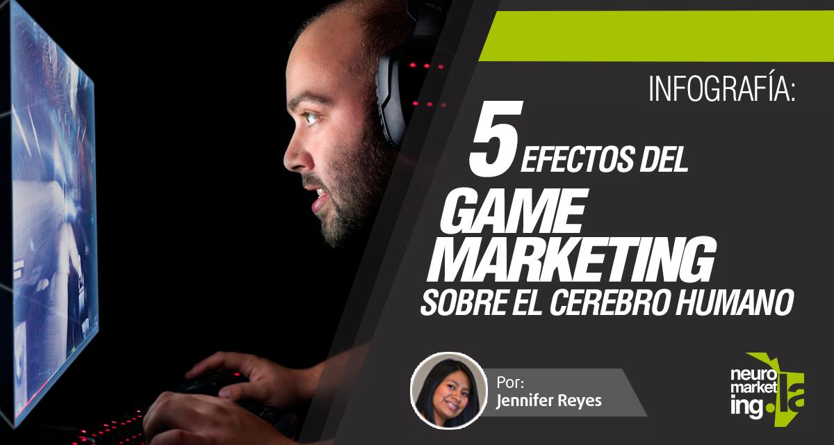 5 efectos del Game Marketing sobre el cerebro humano