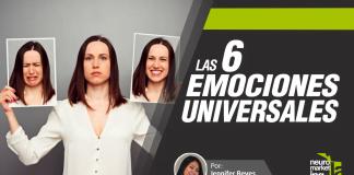 seis emociones universales