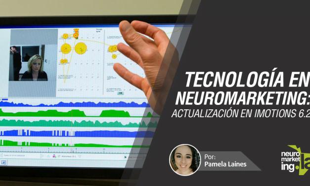 Tecnología en el Neuromarketing: iMotions 6.2 actualizado