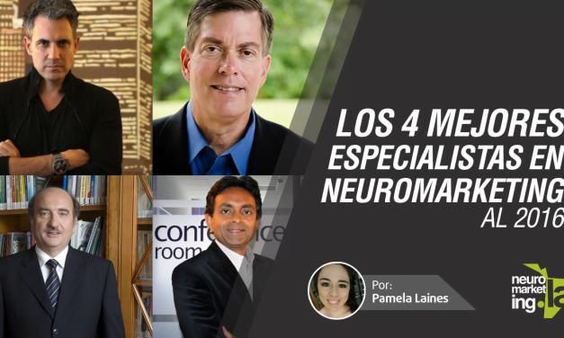 Los mejores especialistas de Neuromarketing en 2016