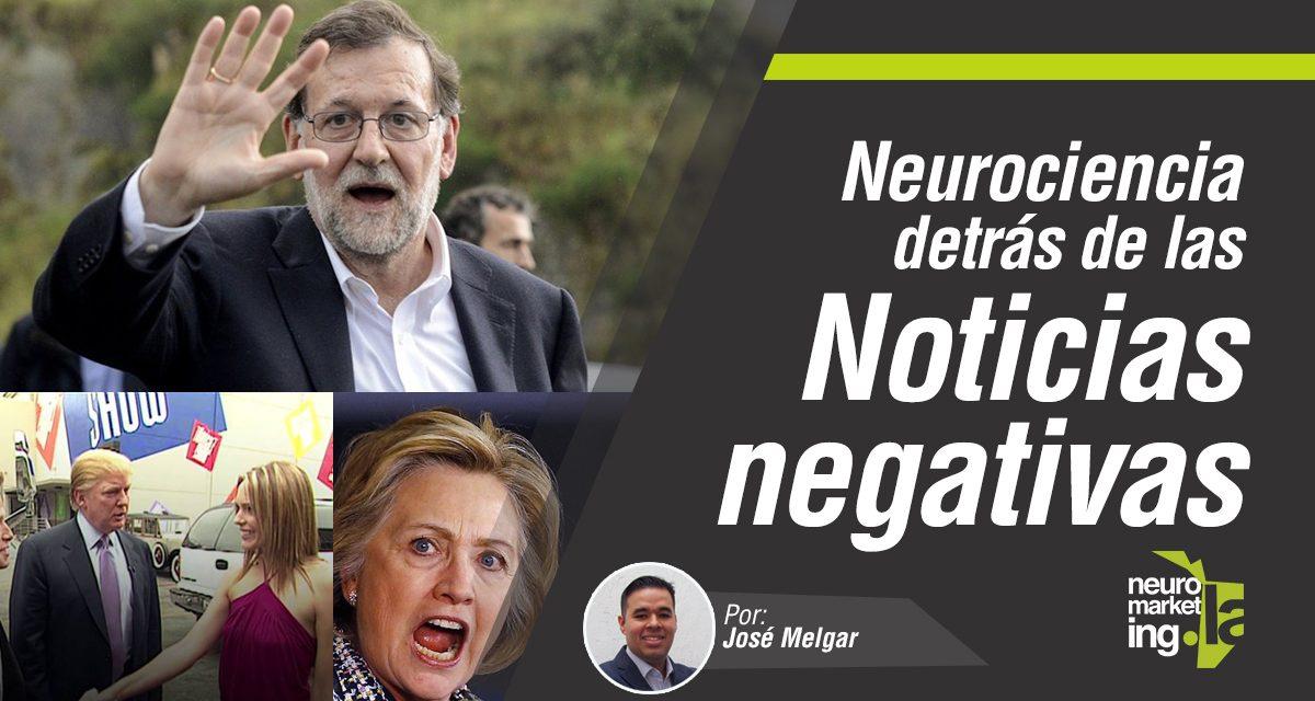 La Neurociencia detrás de las noticias negativas en las elecciones