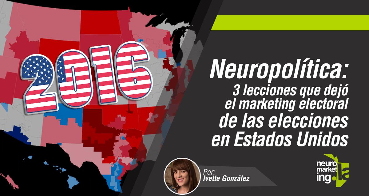 Neuropolítica: 3 lecciones que dejó el marketing electoral de las elecciones en EEUU