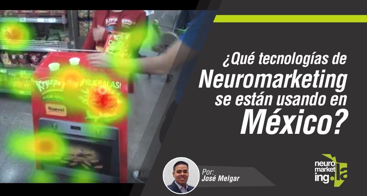 3 tecnologías de Neuromarketing en México