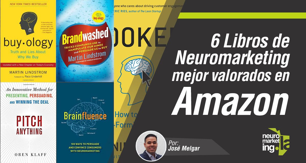 6 libros de Neuromarketing mejor valorados en Amazon