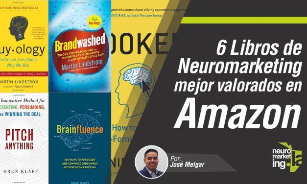 6 libros de Neuromarketing mejor valorados en Amazon