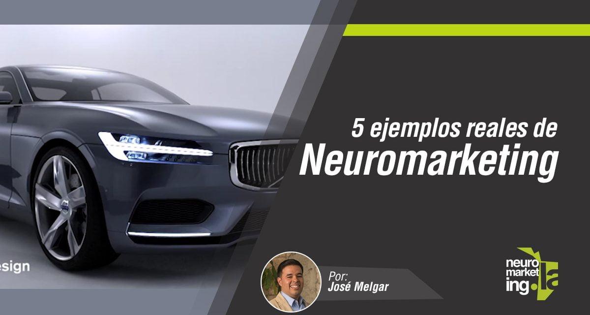 5 ejemplos prácticos de Neuromarketing