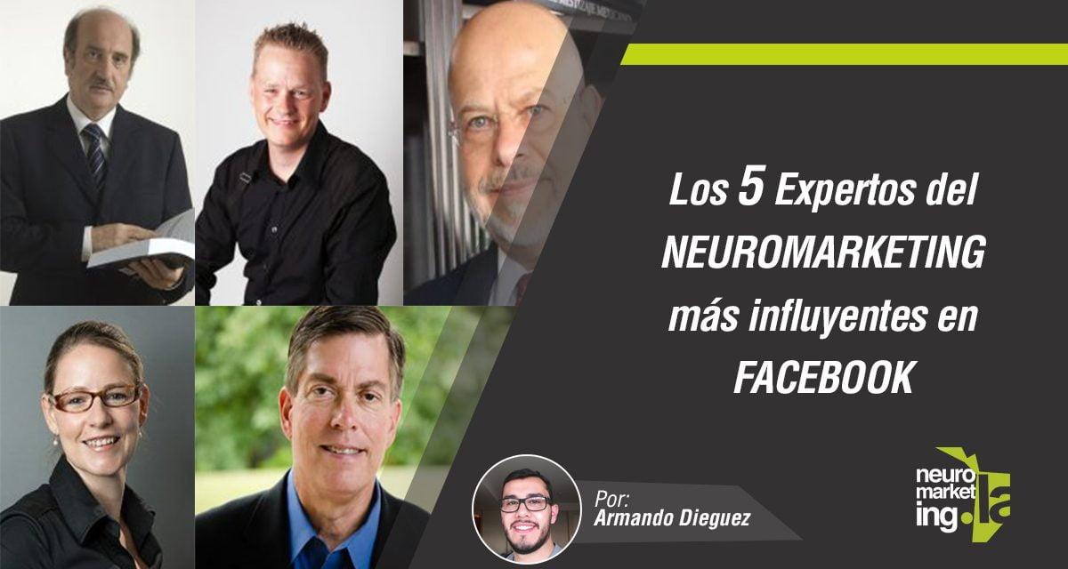 Los 5 expertos del neuromarketing más influyentes en Facebook