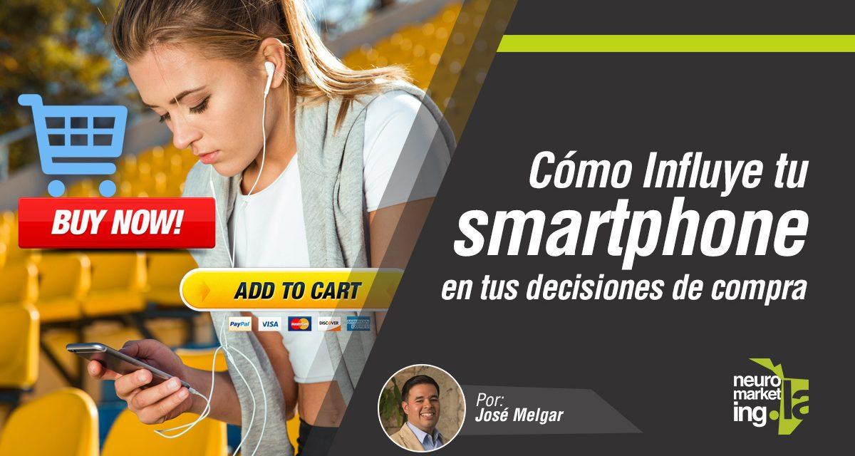 La influencia del smartphone en tus decisiones de compra