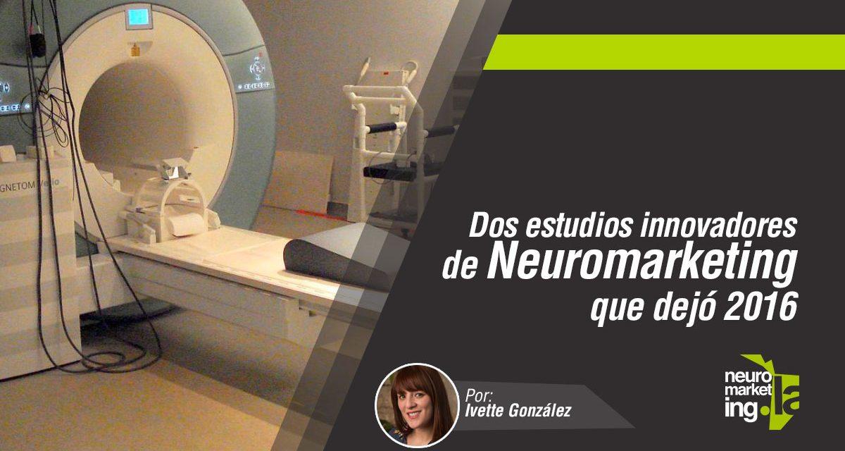 Dos estudios innovadores de neuromarketing que dejó el 2016