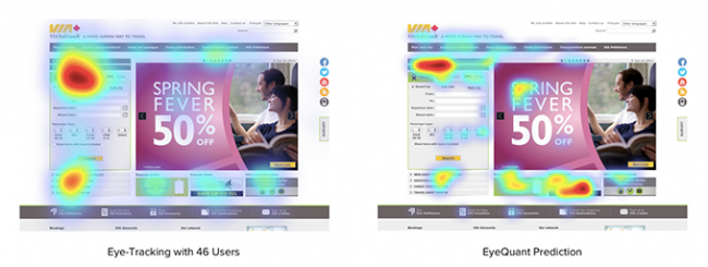 eye tracking: diseño de tu sitio web