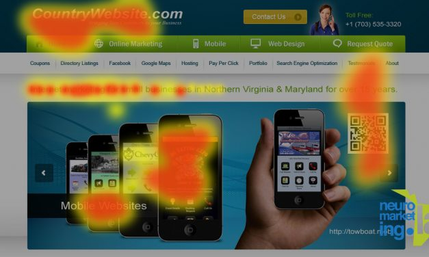 Eye Tracking: 6 formas de mejorar el diseño de tu sitio web