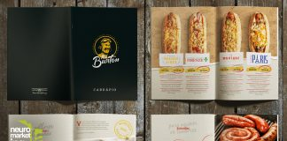 Diseño de menús de restaurante