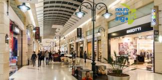 diseño de los centros comerciales