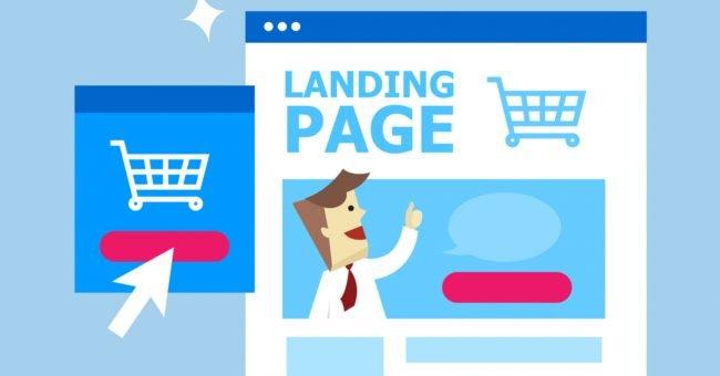 caras humanas en landing pages