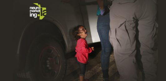 separación de niños migrantes