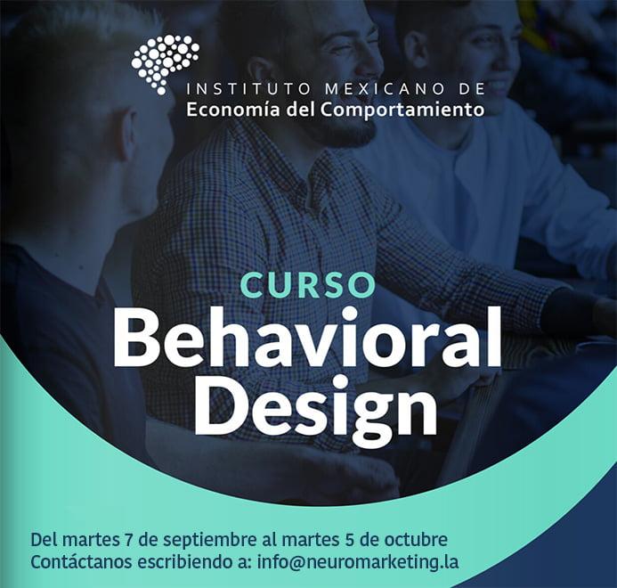 curso behavioral design